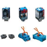 Контакты и катушки электромагнитных реле - фото
